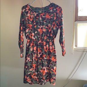 Floral J Crew Dress